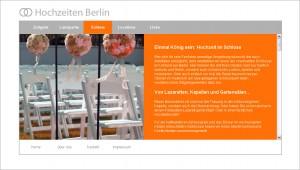 Website-Texte für Hochzeiten Berlin/UCS (www.hochzeiten-berlin.de)