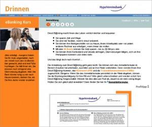 """Online-Texte für das HypoVereinsbank eLearning-Projekt """"eCampus"""""""