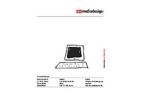 Cover des PDF-Mailings von mx-mediadesign