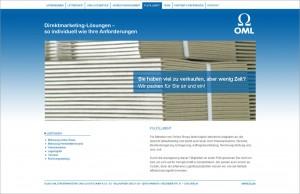 Website-Texte für OML GmbH & Co. KG (www.oml-kg.de)
