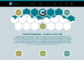 Screenshot Website Cloudbau GmbH