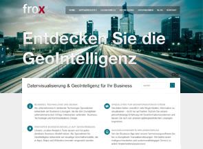 Screenshot Website Frox IT-Fabrik