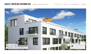 Screenshot Website Nagel Berlin Immobilien