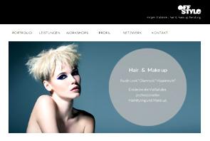 Screenshot Website OFF STYLE Mirjam Drabiniok