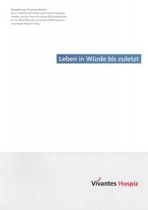 Broschüre Vivantes Hospiz - Texte: Christiane Busse, FRAU BUSSE.txt, Berlin